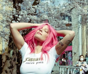halsey, pink, and singer image