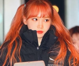 izone, chaewon, and haikyuu image