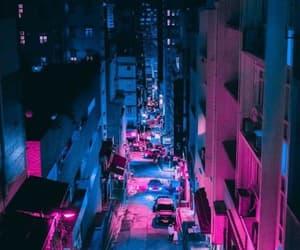 aesthetics, luzes, and cidade image