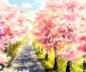 anime, path, and photography image