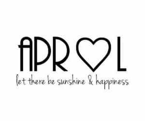 april, life, and quotes image