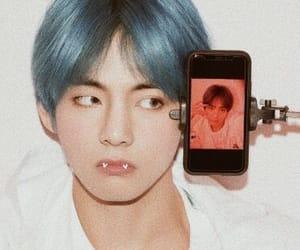 edit, cute, and v image