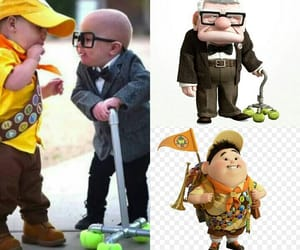 cosplay, carl fredricksen, and Russell image