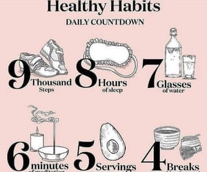 healthy, fitness, and habits image