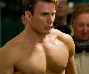 captain america, sexy, and chris evans image