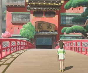 chihiro, spirited away, and studio ghibli image