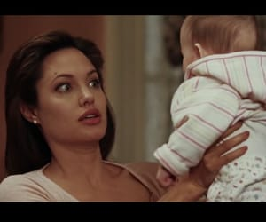 baby and Angelina Jolie image