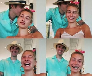 couple, justin bieber, and love image