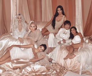 kendall jenner, kylie jenner, and kim kardashian image