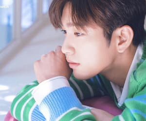 jinyoung, got7, and he is psychometric image