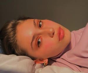 closeup, eyes, and face image