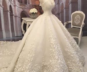 bride, Couture, and style image