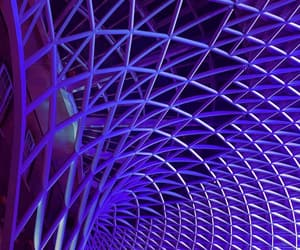 architecture, photography, and purple image