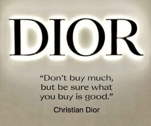 attention, brand, and Christian Dior image