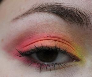 color, eye, and neon image