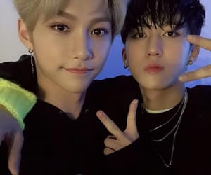 stray kids, lee felix, and felix image