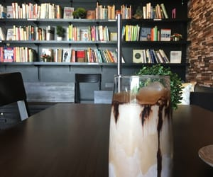 books, cafe, and chill image