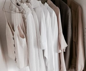 beige, chic, and closet image