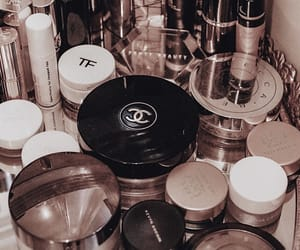 cosmetics, makeup, and chanel image
