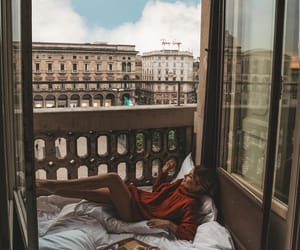 breakfast, rome, and fashion image