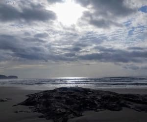 beach, mar, and stone image
