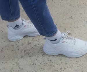adidas, sport, and white shoes image