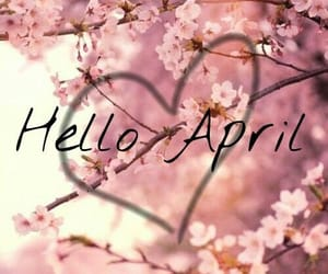 april and flowers image