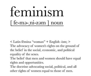 feminism, girl, and quotes image