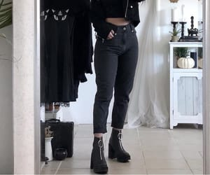 black, alternative, and fashion image