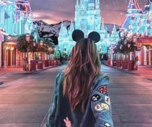 disney land, style, and hair image