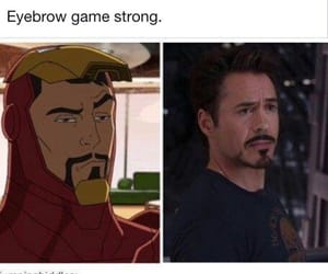 Marvel, funny, and ironman image
