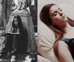 the vampire diaries and elena gilbert image