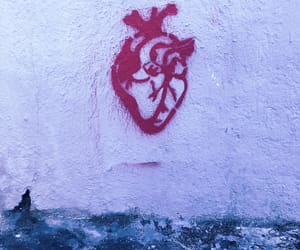 heart, love, and street image