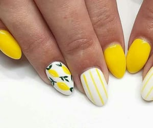 manicure, nail polish, and nails image