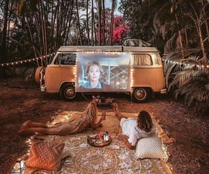 movie, travel, and couple image