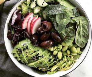 avocado, edamame, and olives image