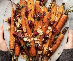 almond, cranberry, and dinner image