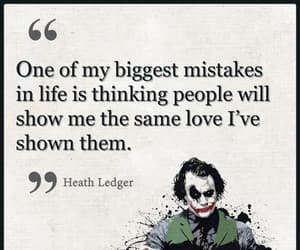 heath ledger, quotation, and quotes image