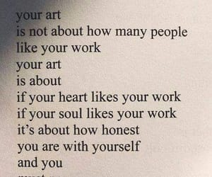 quotes, art, and words image