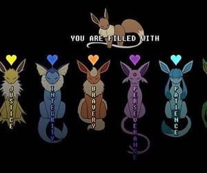 undertale, pokemon, and eevee image