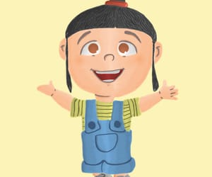 agnes, cartoon, and despicable me image
