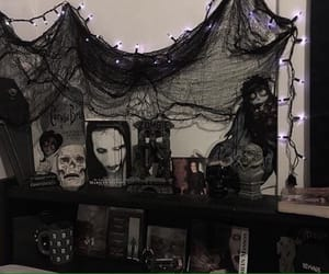 bedroom, black, and corpse bride image