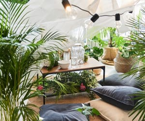 backyard, balcony, and cozy image