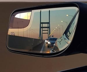 car, travel, and mirror image