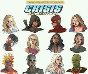 cw, crossover, and crise na terra x image