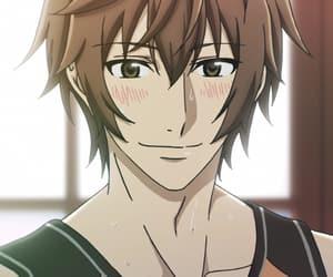 anime, blush, and blushing image