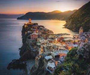 italy, photo, and sunset image