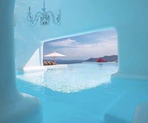 travel, beach, and blue lagoon image