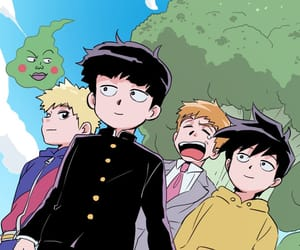 anime, dimple, and manga image
