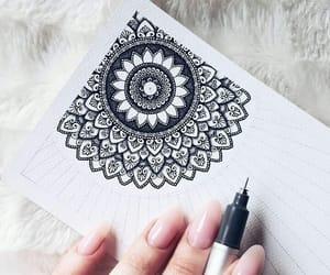 art, arte, and dibujo image